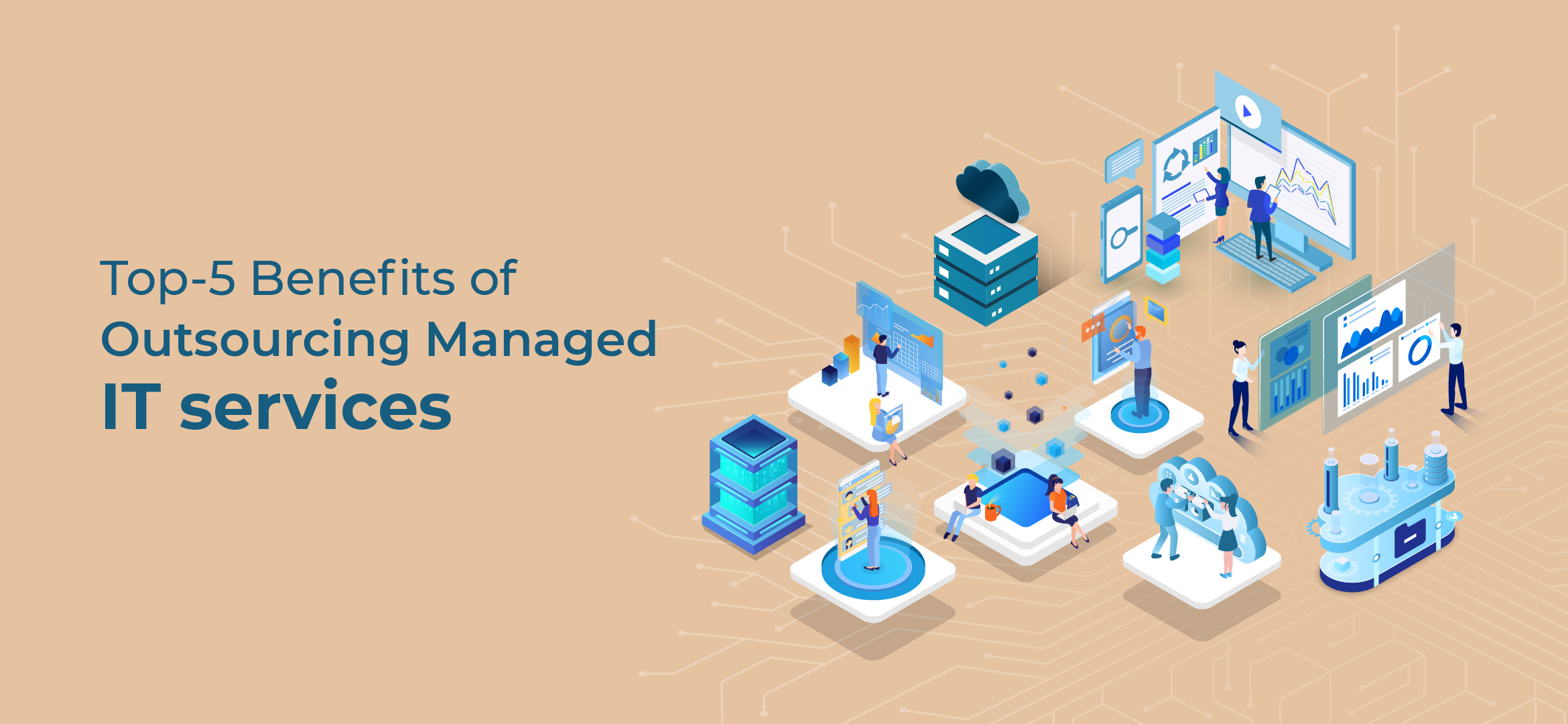 Managed IT service and IT infrastructure
